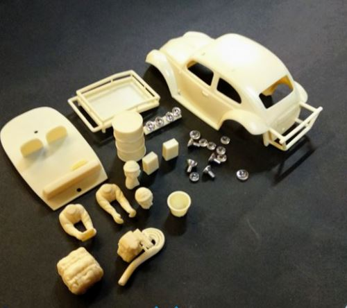 Mitoos M957 High Detail VW Beetle Baja Resin Kit 1:32 Scale
