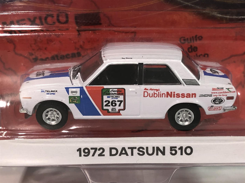 1972 Datsun 510 La Carrera Panamericana 1:64 Scale Greenlight 13260E