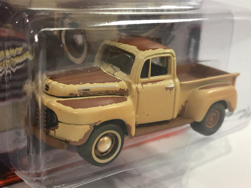 1950 Ford F-1 Pick Up Tuscon Tan 1:64 Scale Johnny Lightning JLSF015B