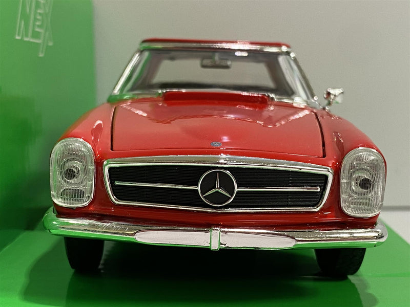 Mercedes Benz 230 SL Red 1:24 Scale Welly 24093