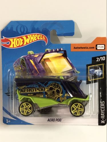 Hot Wheels Aero Pod X- Raycers GHD51 NEW
