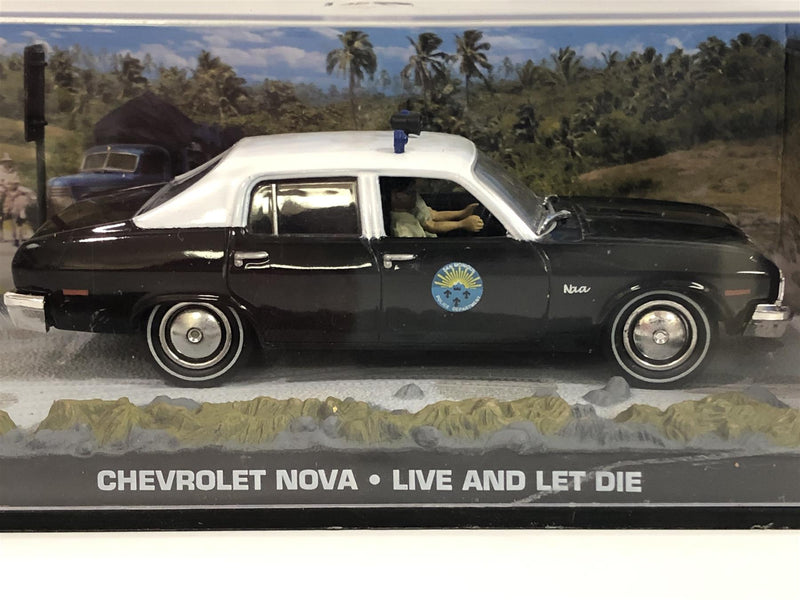 James Bond 007 Collection Chevrolet Nova Live and Let Die 1:43 Scale