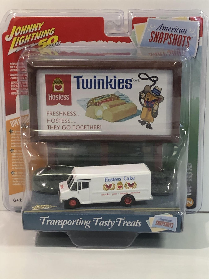 GMC Step Van Hostess Cake 1:64 Scale Johnny Lightning JLAC001