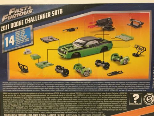 Fast and Furious 2011 Dodge Challenger SRT8 Kit 3 in 1 Mattel FCG50