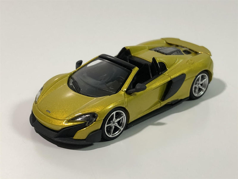 Minichamps 870154432 McLaren 675 LT Spider Yellow 1:87 Scale