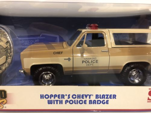 Stranger Things Hoppers Chevrolet Blazer 1:24 Scale Jada 31111