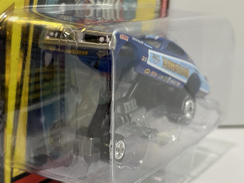 Hawaiian 1970s Dodge Charger Funny Car Blue 1:64 Johnny Lightning JLCG020B