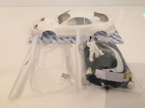 Team Slot CAR002 Toyota Celica GT4 ST-185 White Body Kit