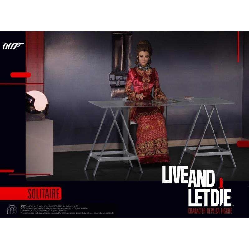 James Bond Live and Let Die 1:6 Figure Solitaire Big Chief Studios Limited