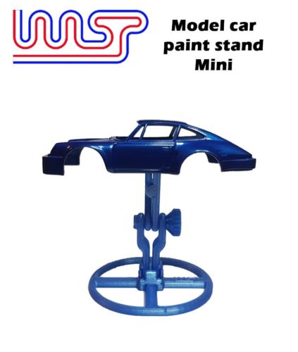 Model Car Paint Stand Slot Car 1:48 and 1:32 Scale New WASP