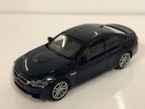 Minichamps 870027201 BMW M4 Coupe 2015 Blue 1:87 Scale