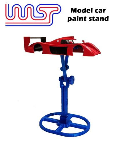 Model Car Paint Stand Slot Car 1:32 and 1:24 Scale New WASP