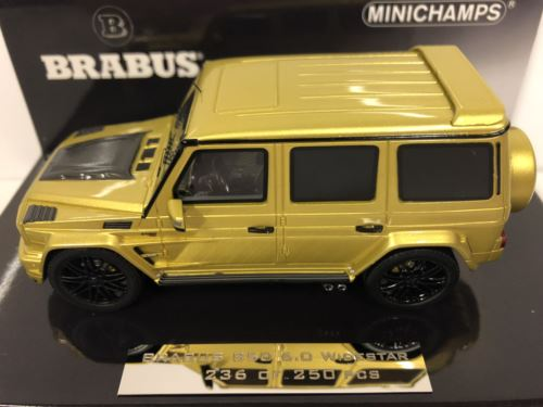 Minichamps 437032404 Brabus 850 6.0 Widestar 2016 Yellow 1:43 Scale