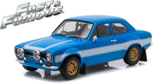 Fast and Furious Brians 1974 Ford Escort RS2000 MKI 1:18 Scale Greenlight