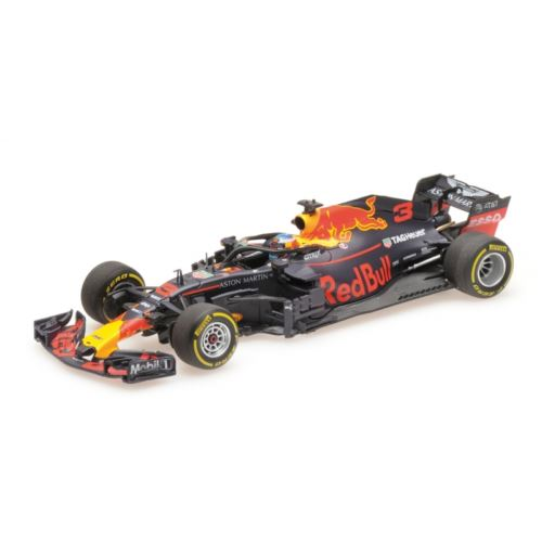 Minichamps 410180003 D Ricciardo Red Bull Racing RB14 2018 Scale 1:43
