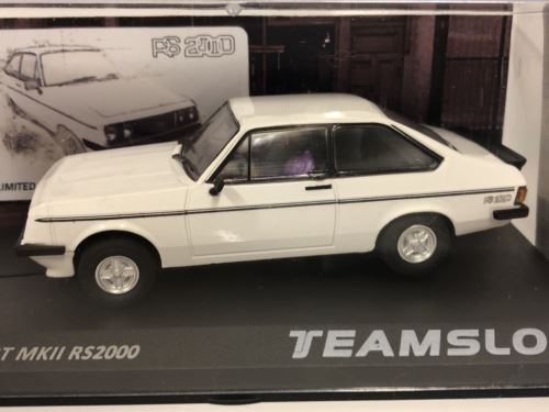 Team Slot SRE019 Ford Escort RS2000 White 1 of 200 Pcs Limited Edition