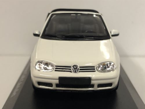 Maxichamps 940058330 1998 Volkswagen Golf 4 Cabriolet White 1:43 Scale
