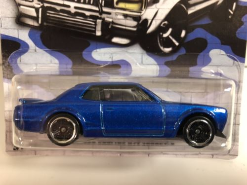 Very Rare Hot Wheels GDG44 Urban Camouflage Blue NEW