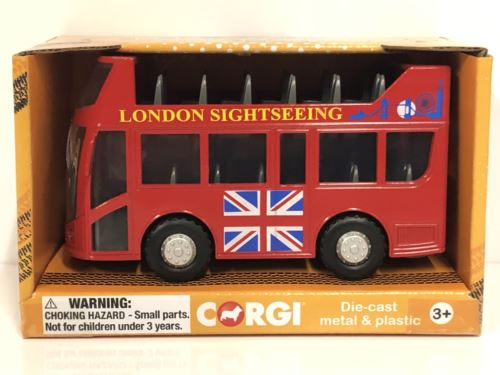 Corgi CHUNKIES CH073 London Bus U.K.Diecast and Plastic Toy