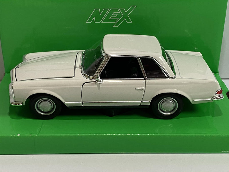 Mercedes Benz 230 SL Cream 1:24 Scale Welly 24093
