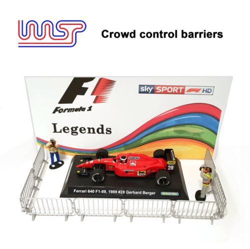 Slot Car Scenery Crowd Control Barriers 1:32 Scale New WASP
