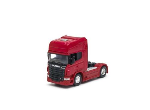 Scania V8 R730 4x2 Red Scale 1:64 Welly 68020SR