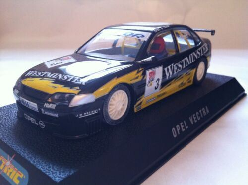Scalextric Opel Vectra 'Westminster' No.3 C2144 QC SAMPLE COA