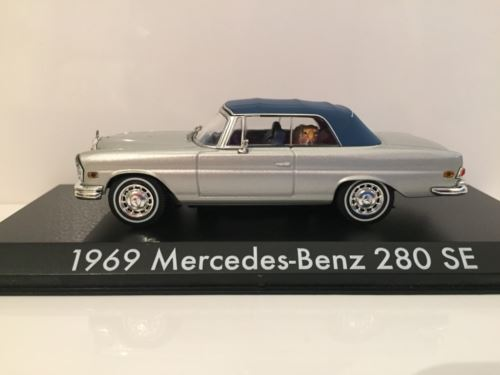 The Hangover 1969 Mercedes Benz 280 SE with Tiger Greenlight 86462
