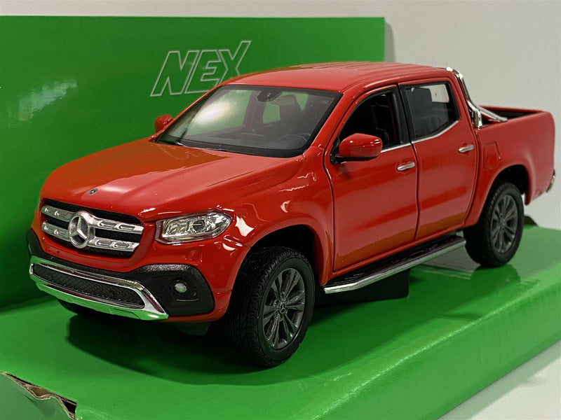 Mercedes Benz X Class Red 1:24 Scale Welly 24100