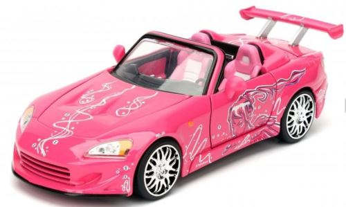 Fast and Furious Sukis Honda S2000 Pink 1:24 Scale Jada 97604