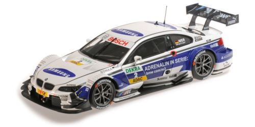 Minichamps 100 132202 BMW M3 DTM E92 2013 Schnitzer and Werner 1:18 Scale