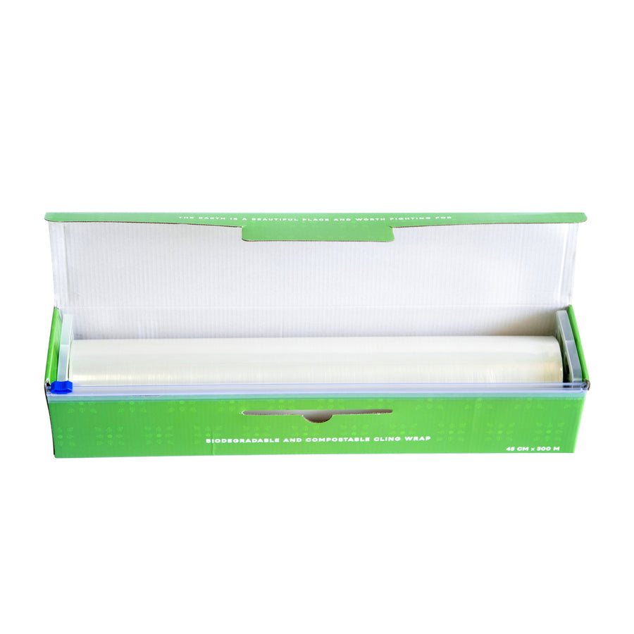 Biodegradable and Compostable Cling Wrap 45 cm x 300 M