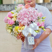 Perfect pink vase