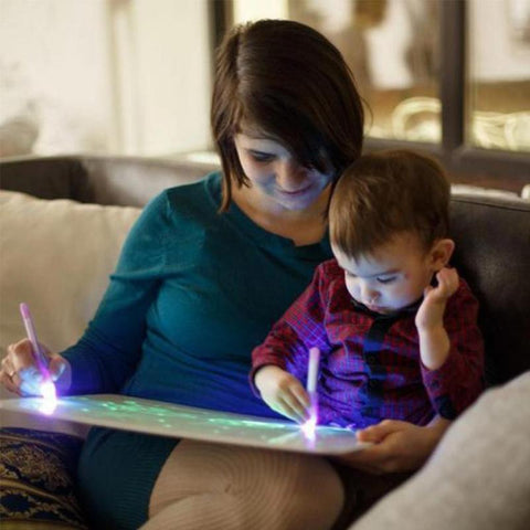 Light Drawing Kit  For Children - tazooly.com