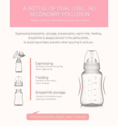 Double Electric Breast Pump - Best Unilateral And Bilateral Breast Pump by Tazooly