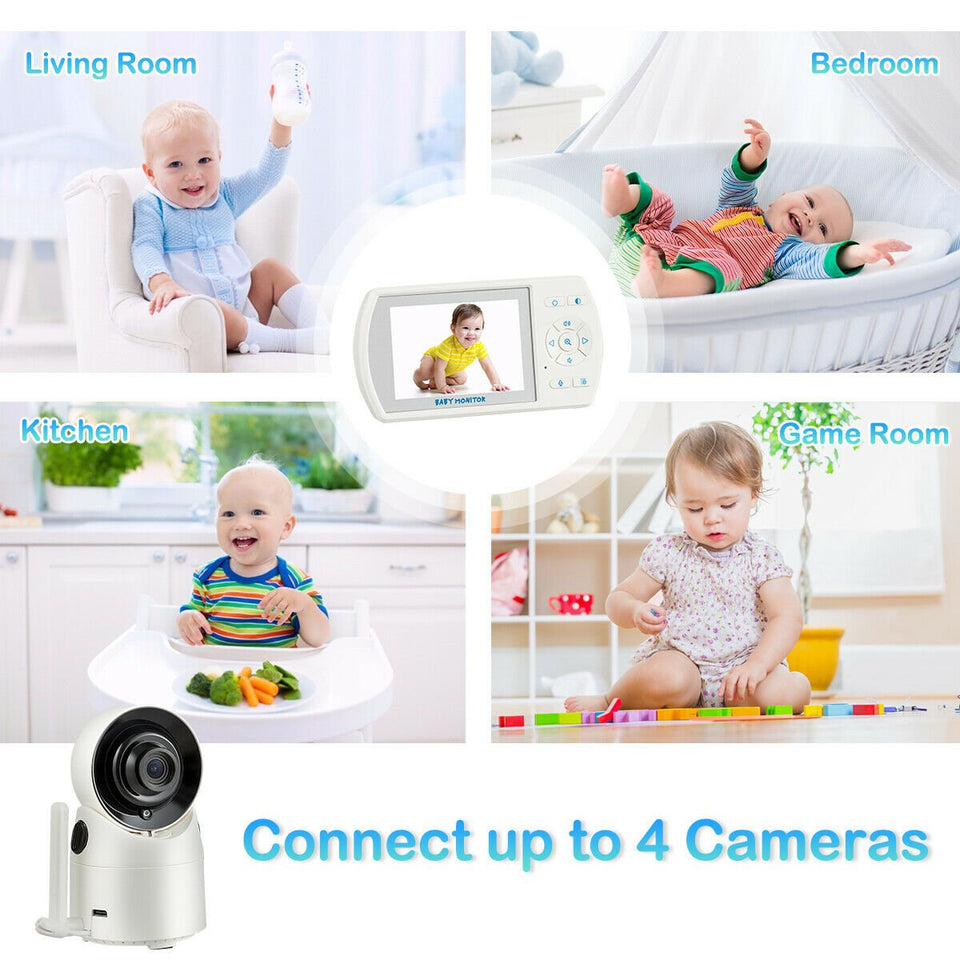 360-Degree Baby Monitor Camera and Security Video - Tazooly