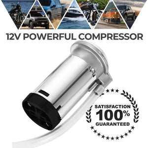 12v POWERFUL AIR COMPRESSOR- Tazooly