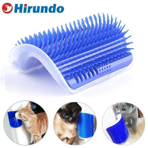 Hirundo® Cat Self Grooming Brush Perfect Massager Tool - Tazooly