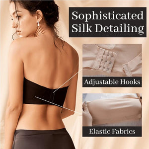 Ice Silk Lifting Bandeau Wireless Bra Women's Lingerie - Tazooly