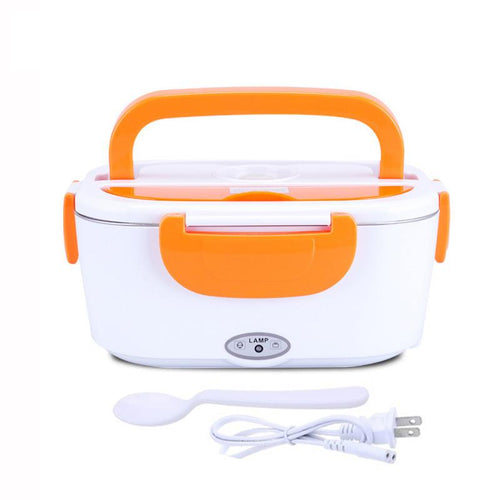 1.5L Electric Lunch Box Car Plug-in Heating Insulated Food Warmer Container Outdoor Travel - Tazooly