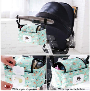 BewBag™ Baby Stroller Organizer Bag Mummy Diaper Bag Accessories Travel Nappy - Tazooly