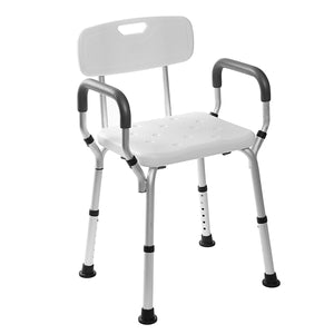 Adjustable Medical Shower Folding Chair - Tazooly