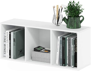 Furinno 5-Cube Open Shelf, White