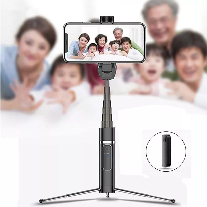 USAMS bluetooth Selfie Stick Tripod Remote Extendable Monopod for iPhone 7 8 X Samsung - Tazooly
