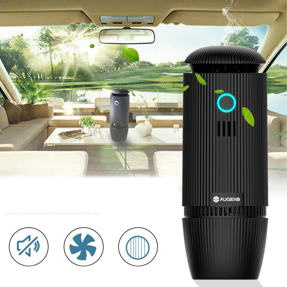 Ioniser Car Air Purifier Portable Humidifier Oil Aroma Diffuser - Tazooly