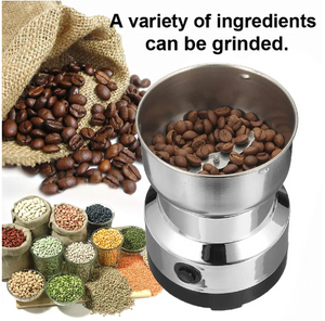 Coffee Grinder  - Stainless Steel Coffee Bean Electric Grinder - Tazooly