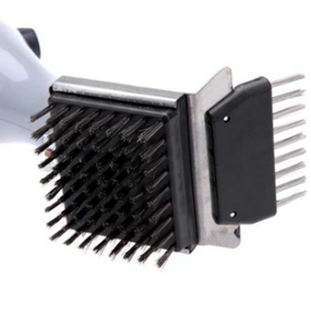 BabyQ™ BBQ Vapor Cleaner Brush Stainless Steel Cleaning Bristles Outdoor - Tazooly