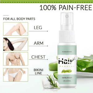 Natural Permanent Hair Removal Spray - Tazooly