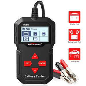KONNWEI KW210 Automatic Smart 12V Car Battery Tester - Tazooly