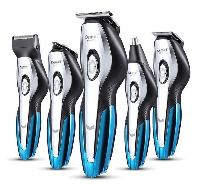 Cordless USB Rechargeable Hair Clipper Trimmers Cutting Kit - Tazooly